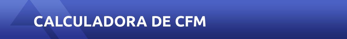 Calculadora de CFM